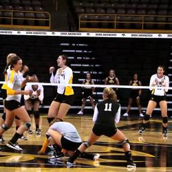 Iowa Volleyball Headed into Cy-Hawk Series