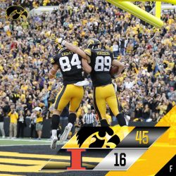 Hawkeye's Bust Out on Homecoming Saturday