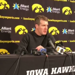 Tom Brands Press Conference After Oklahoma State Dual
