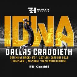 Recruit Recon: Dallas Craddieth – DB