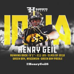 Recruit Recon: Henry Geil – RB