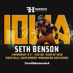 Recruit Recon: Seth Benson – LB