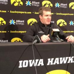 Tom Brands Addresses Media Following Minnesota Dual