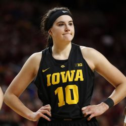 Megan Gustafson Breaks B1G Tournament Scoring Record