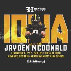 Recruit Recon: Jayden McDonald – LB