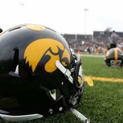 Iowa Football First To Wear Custom Fit Helmets