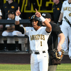Heller's Hawkeyes Take The Weekend Series Against Ohio State