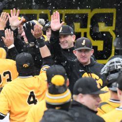 Hawkeyes 1 Hit Northern Illinois In A 2-0 Shutout