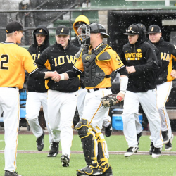 Hawkeyes Rout Milwaukee Before Huge Series This Weekend