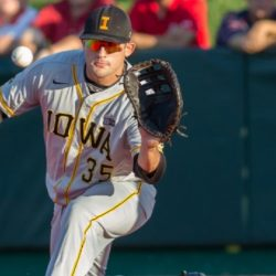 Adams Takes the Field on Iowa Soil