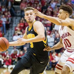 Hawks Look to Bounce Back vs. Hoosiers