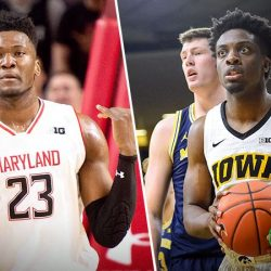 Iowa Hosts Maryland in Top 25 Match-up