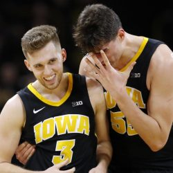 Hawkeyes Behind Timely Bohannon Three Barrage Win in OT 76-70 Against Indiana!