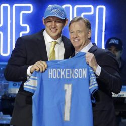 The Lions Draft Hockenson Eighth Overall